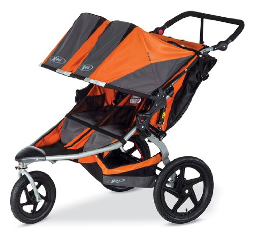 BOB Revolution Flex Duallie Stroller, Orange