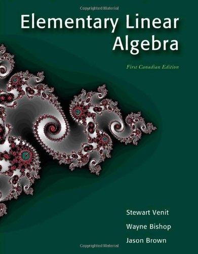 CDN ED Elementary Linear Algebra