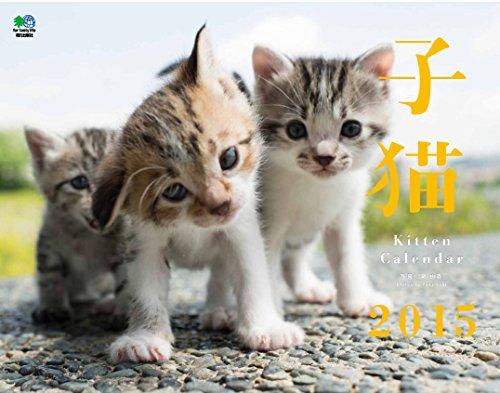 子猫  カレンダー 2015 ([カレンダー])