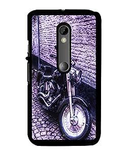 Fuson 2D Printed Bike Designer back case cover for Motorola Moto X Style - D4501