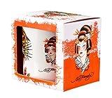 Ed Hardy Mug, Tiger Geishas Design