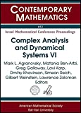 img - for Complex Analysis and Dynamical Systems: Pde, Differential Geometry, Radon Transform (Contemporary Mathematics) book / textbook / text book