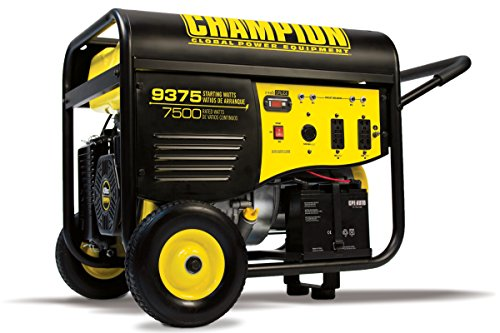 Champion Power Equipment #100219  9,375 Watt 439cc Gas Powered Generator With Electric Start (CARB Compliant)