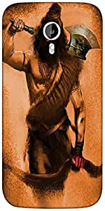 Snoogg Mahadev'S Trip Designer Protective Back Case Cover For Micromax A116