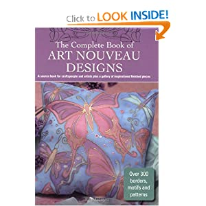 The Complete Book of Art Nouveau Designs (Design Inspirations) Search Press