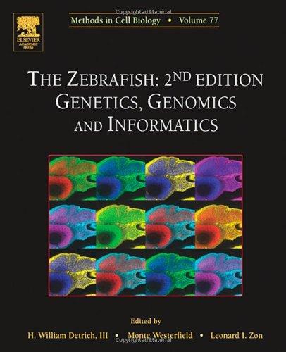 The Zebrafish: Genetics, Genomics And Informatics, Volume 77, Second Edition (Methods In Cell Biology) (Vol 77)