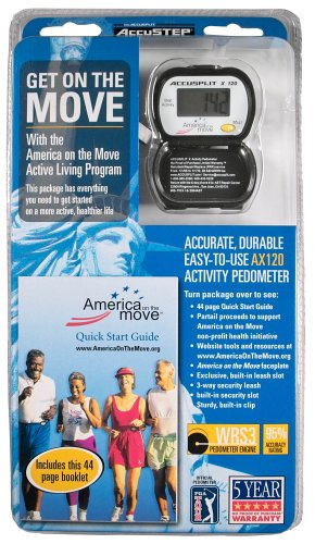 Cheap ACCUSPLIT AAS450 America On The Move, Activity Wellness Program (AAS450)