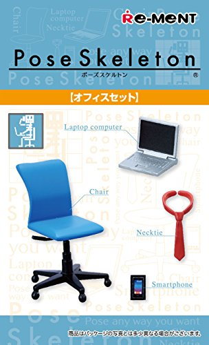 Pose Skeleton Accessories Office Set - 1