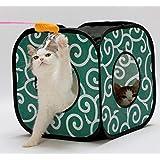 Cat1st Ninja Cat Cube (Green)#the Best Cat Toy