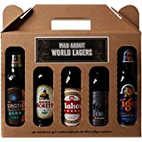 Mad About World Lager Gift Set 330 ml (Case of 5)