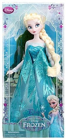 Disney Frozen Exclusive 12' Classic Doll Elsa