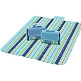 Moolecole Waterpfoof Grand Folding Picnic Mat Jouez Camping Plage Yoga Blanket (180*150cm)