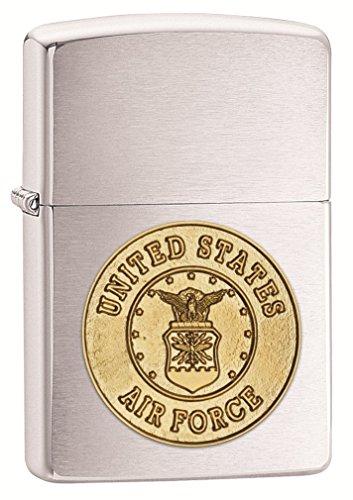 zippo-us-air-force-crest-emblem-lighter-brushed-cromo