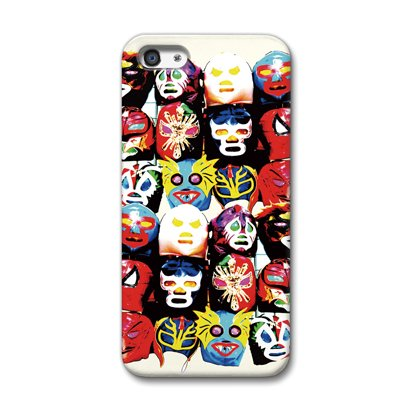 CollaBorn iPhone5専用スマートフォンケース Lucha Mask 【iPhone5対応】 OS-I5-142