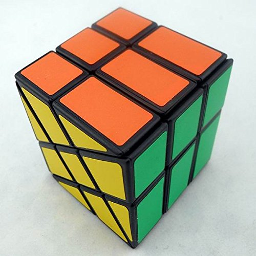 GoodPlay YJ Wheel Puzzle Cube Windmill Cube 3x3x3 Shape Mod Twisty Puzzle (difficulty 9 of 10) Black - 1