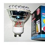 4 x Genuine Eveready brand GU10 LED bulbs 30 LED's per bulb. only 1.5w power use.by Eveready