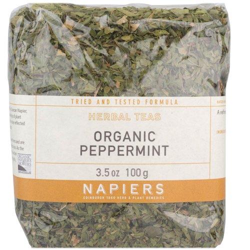 Napiers Organic Peppermint Herbal Tea 100g