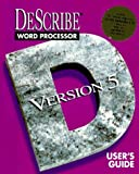 img - for Describe Word Processor Version 5 User's Guide/Book and Cd book / textbook / text book