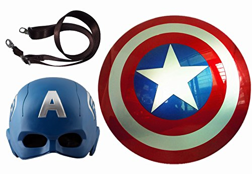 Gmasking Captain America Adult Shield and Helmet Scale 1:1 Replica