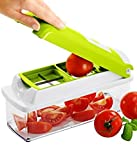 Nicer Dicer plus Multi Chopper Vegetable Cutter Fruit Slicer Peeler (Original New Arrival)