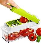 Nicer Dicer plus Multi Chopper Vegetable Cutter Fruit Slicer Peeler (Original New Arrival)
