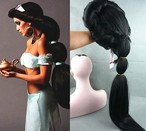 StrongBeauty-Cosplay-Long-Black-Wig-Anime-Aladdin-Jasmine-Princess-Classic-Halloween-Party-Women-Costume-Wig-35