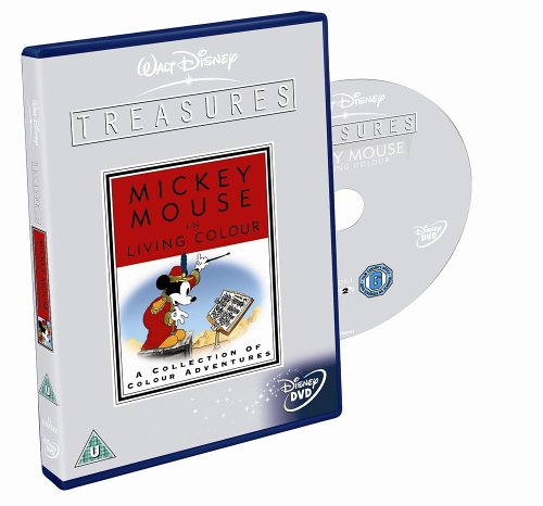 Walt Disney Treasures - Mickey In Living Colour [DVD]