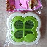 Enjoydeal Practical Cute Shape Plastic Sandwich Maker Bread Mold Cutter DIY Tools for Cake Decor (Clover)