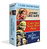 3 Classic Wartime Dramas - A Town Like Alice/This Happy Breed/Carve Her Name with Pride [DVD]