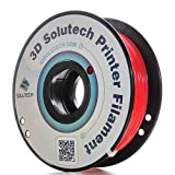 3D Solutech Real Red 1.75mm ABS 3D Printer Filament 2.2 LBS (1.0KG) (Color: Red)