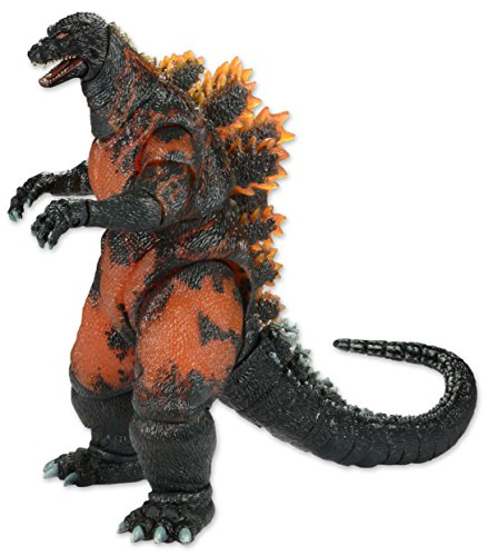 NECA Classic 1995 Burning Godzilla Head to Tail Action Figure, 12""