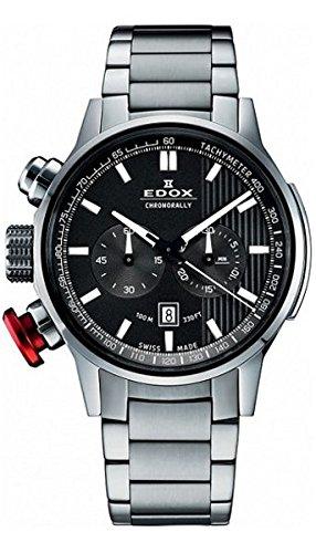 Reloj de pulsera para hombre con cronógrafo Edox Chrono Rally 10302 3 M GIN