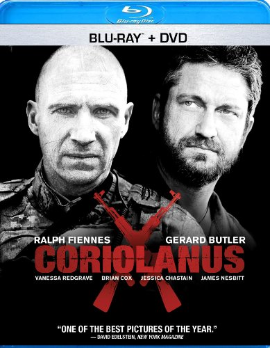 Cover art for  Coriolanus [Two-Disc Blu-ray/DVD Combo]