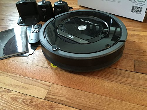 iRobot Roomba 880 Vacuum Cleaning Robot + 2 Virtual Wall Lighthouses (With Batteries) + Remote Control (With Batteries) + 3 Extra Side Brushes + Extra HEPA Filter + More (Irobot Roomba 880 Virtual Wall compare prices)