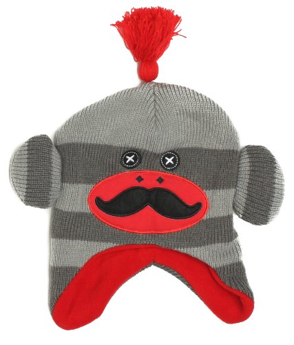 FOCO NCAA Unisex Sock Monkey Hat