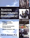 img - for Aviation Maintenance Management by Kinnison, Harry 1st (first) Edition [Paperback(2004)] book / textbook / text book