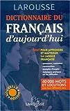 Dictionnaire Du Francais D'Aujourd'Hui