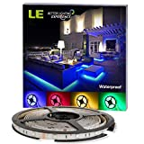 LE-12V-Flexible-RGB-LED-Strip-Lights-LED-Tape-Multi-colors-150-Units-5050-LEDs-Waterproof-Light-Strips-Pack-of-164ft5m