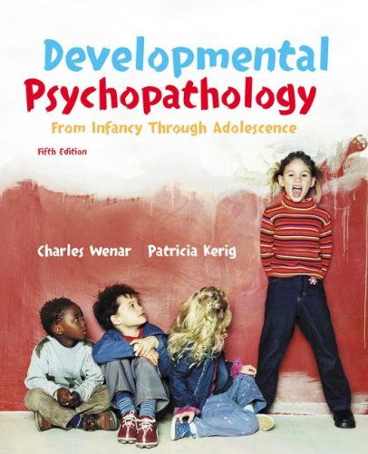Developmental Psychopathology