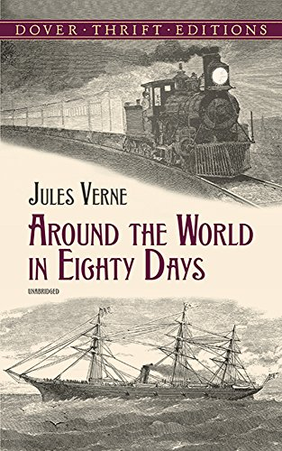 a summary on the characters and literary techniques utilized in around the world in eighty days by j