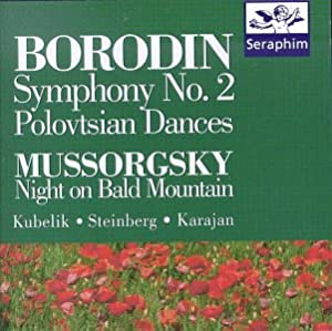Borodin: Symphony No. 2 / Mussorgsky: Night on Bald Mountain