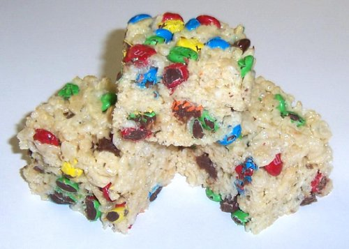 Scott'S Cakes Rice Krispies Treats With Mini Whole Candy M&M'S In A 1 Pound Coffee Break Bag