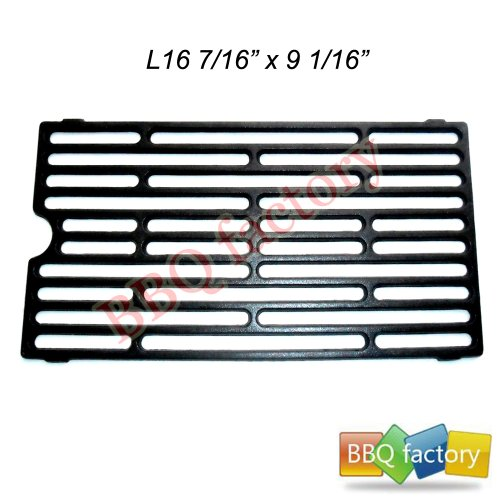 61271 Porcelain Cast Iron Cooking Grid Replacement For Select Gas Grill Models By Chargriller, Jenn-Air And Others