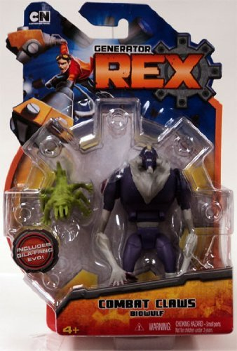 Generator Rex Action Figure Biowulf by Mattel