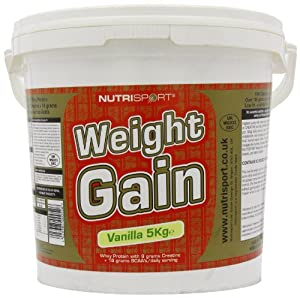 Nutrisport Weight Gain Vanilla 5000g