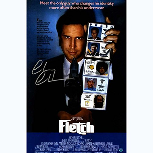 Chevy-Chase-Signed-Fletch-11x17-Movie-Poster