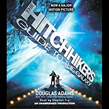 The Hitchhiker's Guide to the Galaxy Audiobook by Douglas Adams Narrated by Stephen Fry