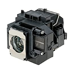 Electrified V13H010L55 / ELPLP55 Replacement Lamp with Housing for Epson Products