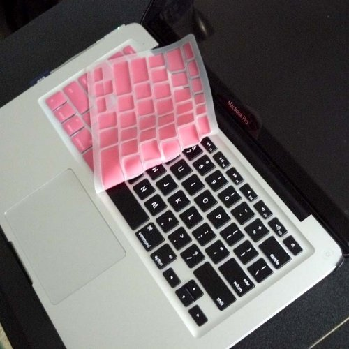 Rose Pink Keyboard Skin Compatible With Appletm Macbook Pro