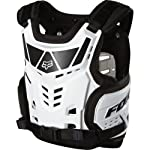Fox Racing Raptor Proframe LC Youth Roost Deflector Off-Road/Dirt Bike Motorcycle Body Armor - White / One Size